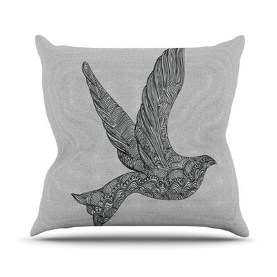 Dove Throw Pillow Size: 20 H x 20 W