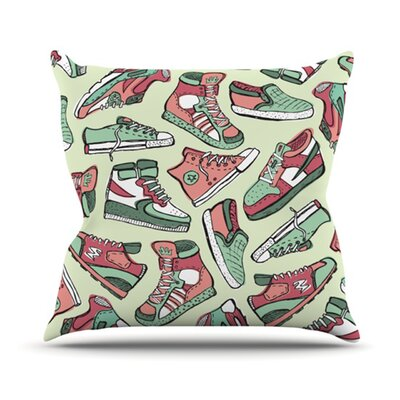 Sneaker Lover II Throw Pillow Size: 26 H x 26 W