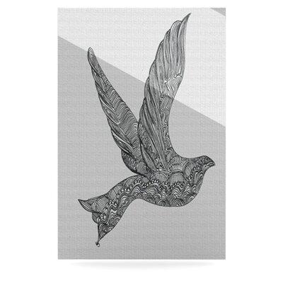 Furniture-KESS InHouse Dove by Belinda Gillies Graphic Art Plaque