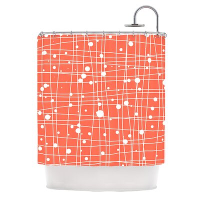 Woven Web I Shower Curtain