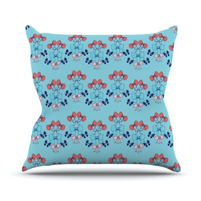 Bows Throw Pillow Size: 26 H x 26 W
