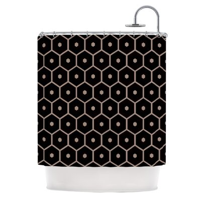 Tiled Mono Shower Curtain