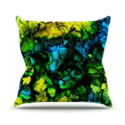 Ariel Throw Pillow Size: 18 H x 18 W
