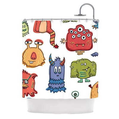 Little Monsters Shower Curtain