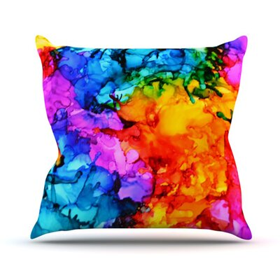 Sweet Sour II Throw Pillow Size: 26 H x 26 W