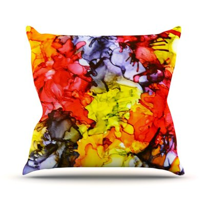 Southern Comfort Throw Pillow Size: 18 H x 18 W