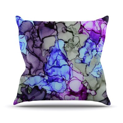 String Theory Throw Pillow Size: 18 H x 18 W