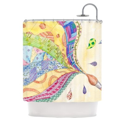 The Painted Quilt Shower Curtain