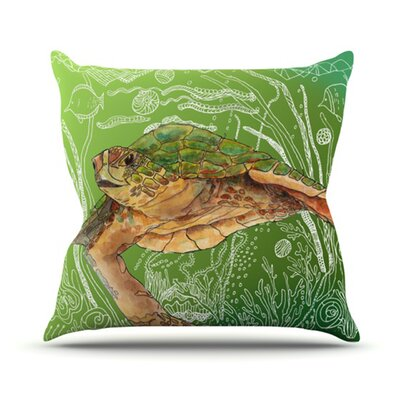Shelley Throw Pillow Size: 16 H x 16 W