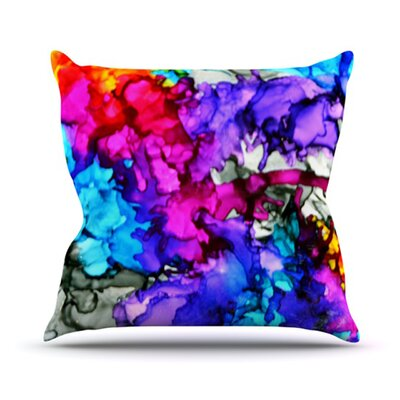 Indie Chic Throw Pillow Size: 18 H x 18 W