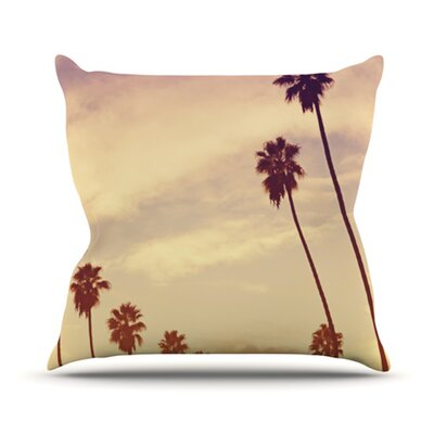 Endless Summer Throw Pillow Size: 18 H x 18 W