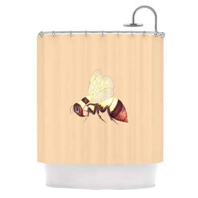 Be Happy Shower Curtain