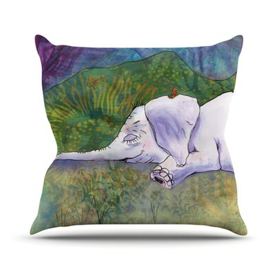 Ernies Dream Throw Pillow Size: 16 H x 16 W