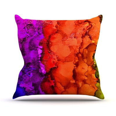 Clairevoyant Throw Pillow Size: 18 H x 18 W