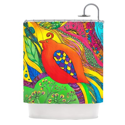 Psycho-Delic Dan Shower Curtain