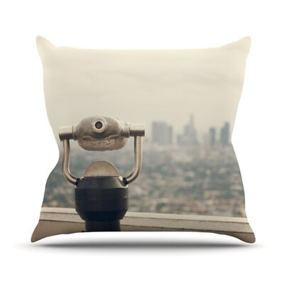 The View LA Throw Pillow Size: 20 H x 20 W