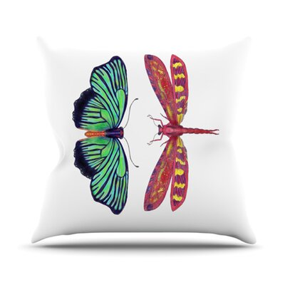 Haland Throw Pillow Size: 26 H x 26 W