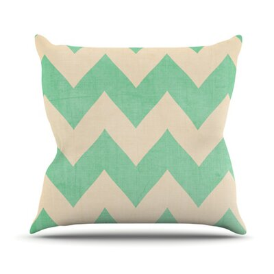 Malibu Throw Pillow Size: 18 H x 18 W