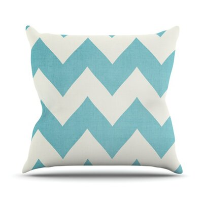 Salt Water Cure Throw Pillow Size: 18 H x 18 W
