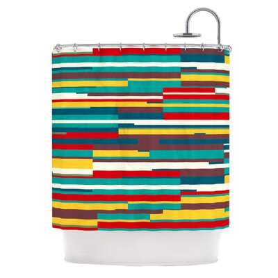 Blowmind Shower Curtain