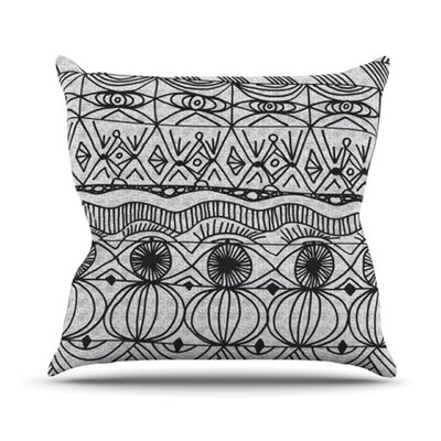 Blanket of Confusion Throw Pillow Size: 26 H x 26 W