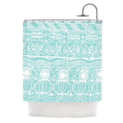 Beach Blanket Bingo Shower Curtain