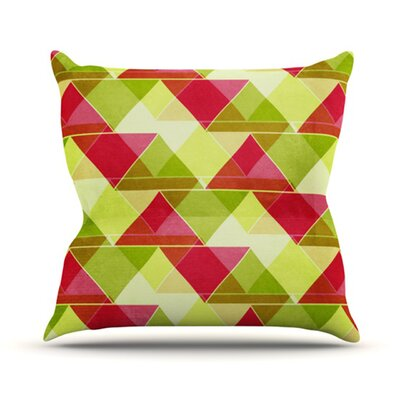 Palm Beach Throw Pillow Size: 16 H x 16 W