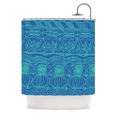 Beach Blanket Confusion Shower Curtain