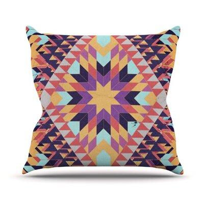 Ticky Ticky Throw Pillow Size: 26 H x 26 W