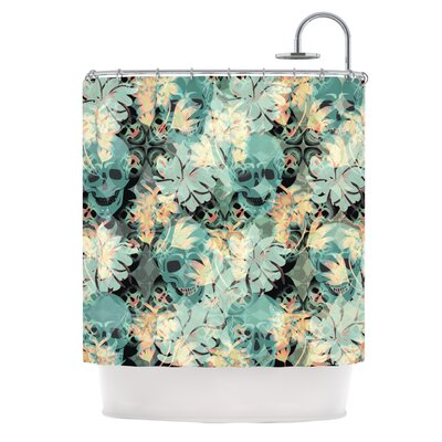 Dead Head Party Shower Curtain