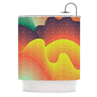 Waves, Waves Shower Curtain