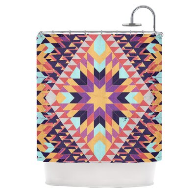 Ticky Ticky Shower Curtain