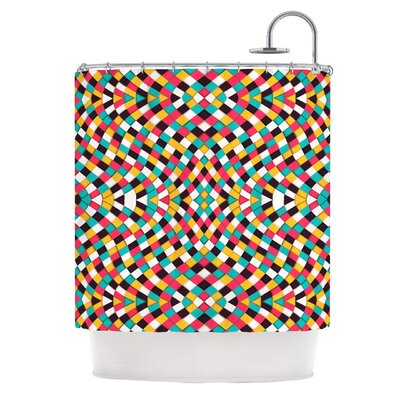 Retro Grade Shower Curtain