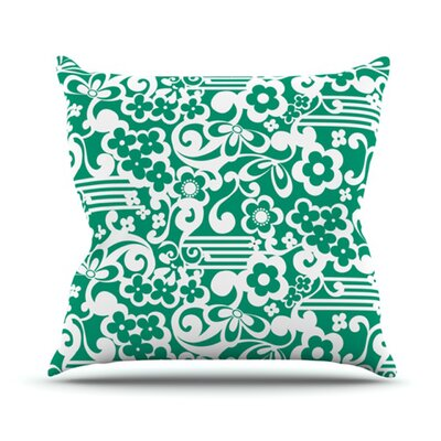 Esmerald Serenity Throw Pillow Size: 18 H x 18 W