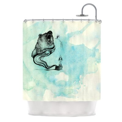 Hot Tub Hunter III Shower Curtain