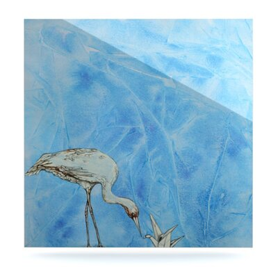 Crane by Kira Crees Painting Print Plaque KC1006AWS01