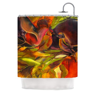 Mirrored in Nature Shower Curtain