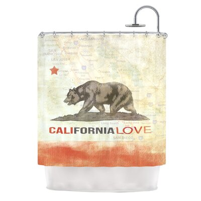 Cali Love Shower Curtain