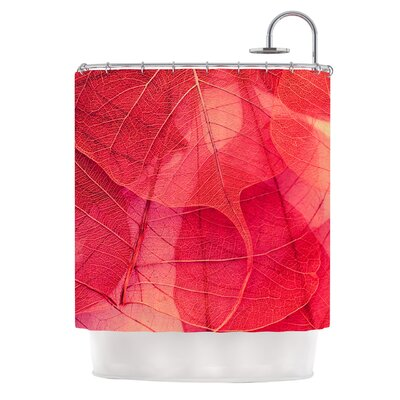 Delicate Leaves Shower Curtain