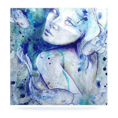 Koi Playing by Kira Crees Painting Print Plaque KC1004AWS01