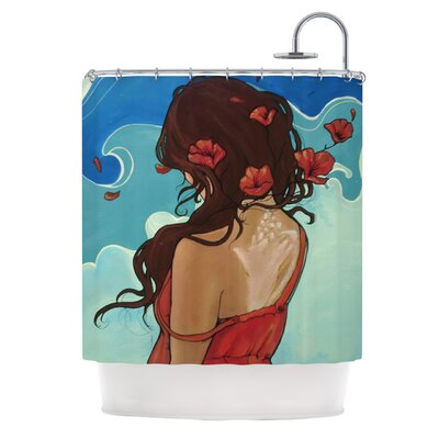 Sea Swept Shower Curtain