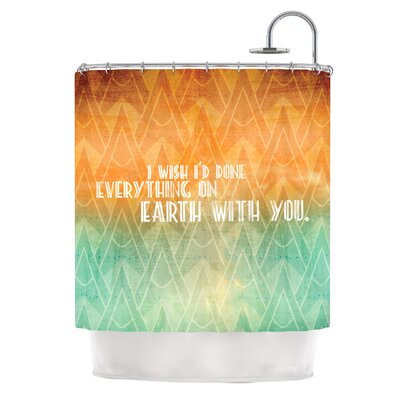 Deco II Shower Curtain