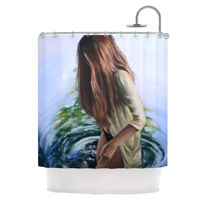 Knee Deep Shower Curtain