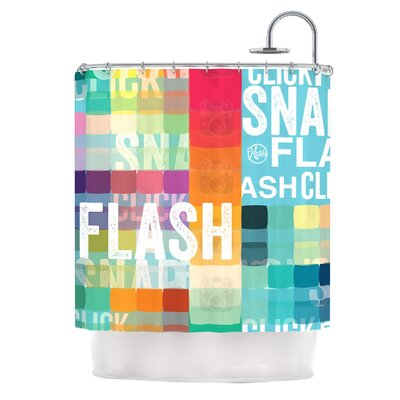 Flash Shower Curtain
