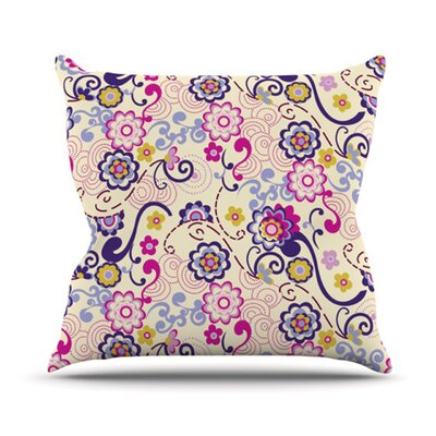 Arabesque Throw Pillow Size: 16 H x 16 W