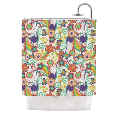 Printemps Shower Curtain