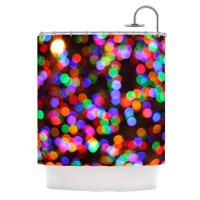 Lights II Shower Curtain
