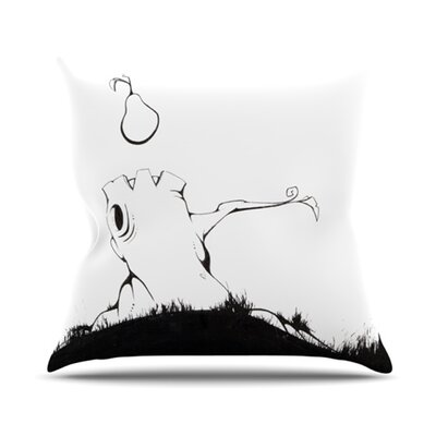 Its Alright Throw Pillow Size: 26 H x 26 W