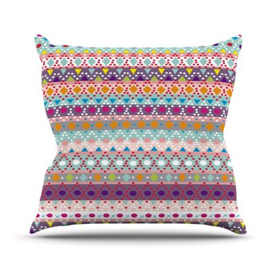 Ayasha Throw Pillow Size: 18 H x 18 W