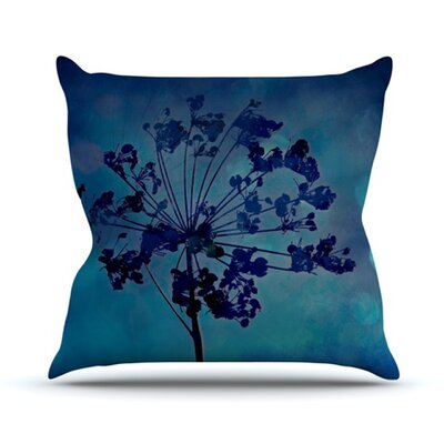 Grapesiscle Throw Pillow Size: 16 H x 16 W